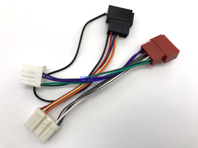 iso standard car radio audio wire harness cable accessories for rh aliexpress com Car Audio Wiring Help standard car radio wiring diagram