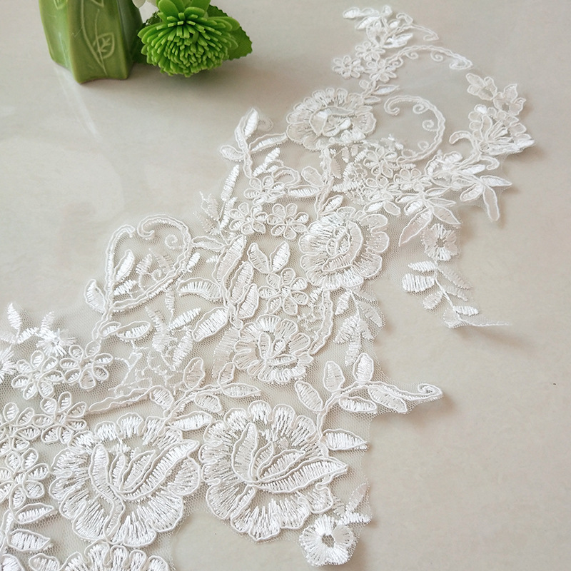 Flower Embroidery Cloth Sticker DIY Embroidery Dress Cheongsam Patch Cloth Sticker Garment Accessories Factory Direct Sales