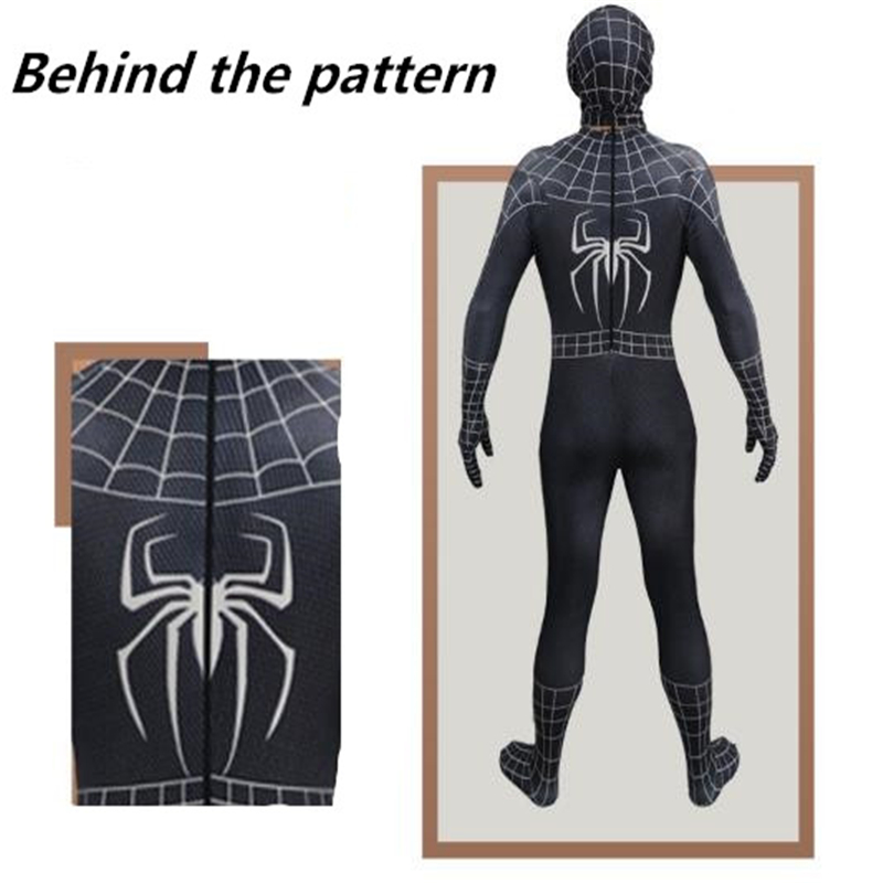 New Popular 3D Digital Printing Spider-Man 3 All-Inclusive Tights Spider-Man Cosplay Party Apparel Suitable for Men and Women