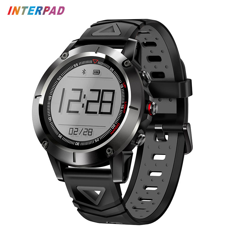 Interpad GPS Smart Watch IP68 Professional Waterproof Blood Pressures Smartwatch With Compass Sports Watch For Android IOS