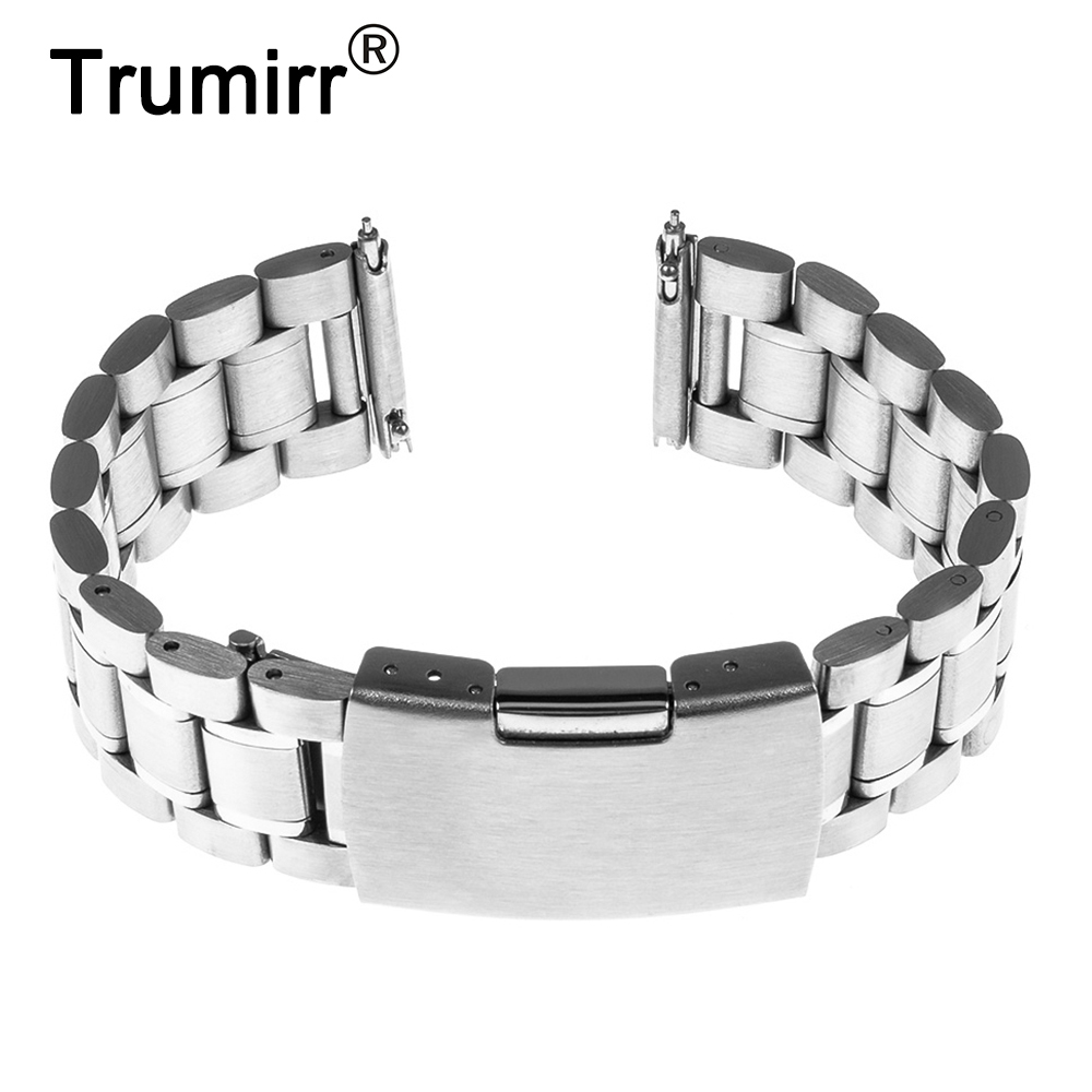 18mm Quick Release Watchband for Withings Activite / Steel / Pop Stainless Steel Band Smart Watch Metal Strap Link Bracelet 18mm milanese watch band quick release for withings activite steel pop mesh stainless steel strap wrist belt bracelet tool