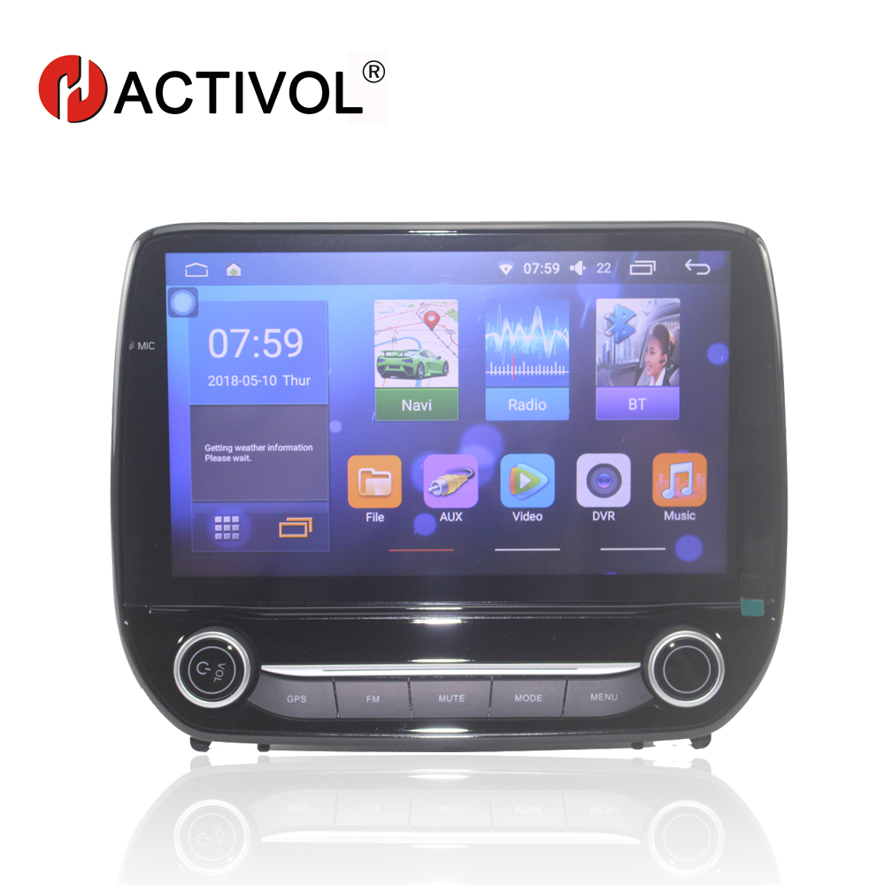Bway 9 de voiture radio gps pour Ford Ecosport 2018 android 7.0 lecteur dvd de voiture avec bluetooth, GPS Navi, CFC, wifi, Miroir lien, DVR