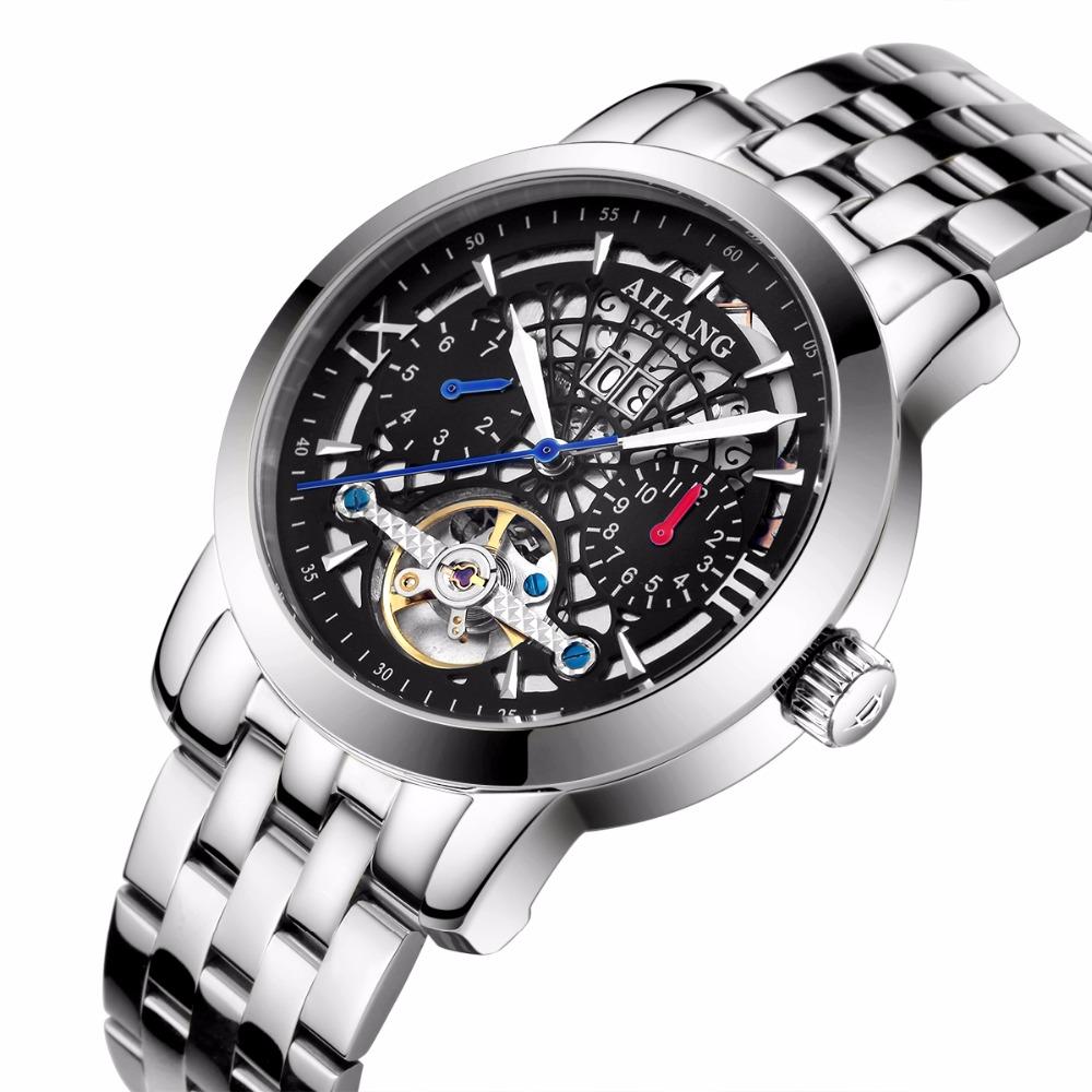 bf302320d4b Homens Relógio Legal Criativo Relógio Marca De Luxo de Aço Preto Relógio  Masculino Estilo Crânio mecânico Automático assista relogio masculinoUSD  62.40  ...