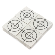 100 шт лист отражателя 40x40 мм Светоотражающие Целевая лента тахеометра