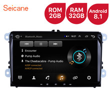 High Version RAM 2GB ROM 32GB 9 inch Android 8.1 Car Multimedia player For VW/Volkswagen/Golf/Tiguan/Passat/b6 b5 Radio GPS(China)