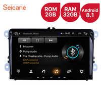 High Version RAM 2GB ROM 32GB 9 inch Android 8.1 Car Multimedia player For VW/Volkswagen/Golf/Tiguan/Passat/b6 b5 Radio GPS