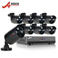 ANRAN 8CH Security Camera System AHD 1080N HDMI DVR 720P 1800TVL IR Outdoor Camera Home Video Surveillance Kits Email Alert