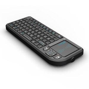 Image 4 - Original Rii mini X1 Drahtlose Tastatur 2,4G Air Fly Maus Handheld Touchpad gaming für smart TV Android tv box PC Laptop HTPC