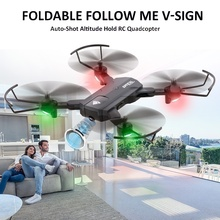 SG900 Full 720P HD FPV RC Drone Folding GPS Smart Follow Wide-Angle Camera Gesture Video Real-Time Transmission Quadcopter