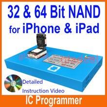 32 64 Bit NAND Flash Chip IC Programador Herramienta Fix reparación de la Placa Madre DISCO DURO Número de Serie de Chips SN Modelo para iPhone ipad