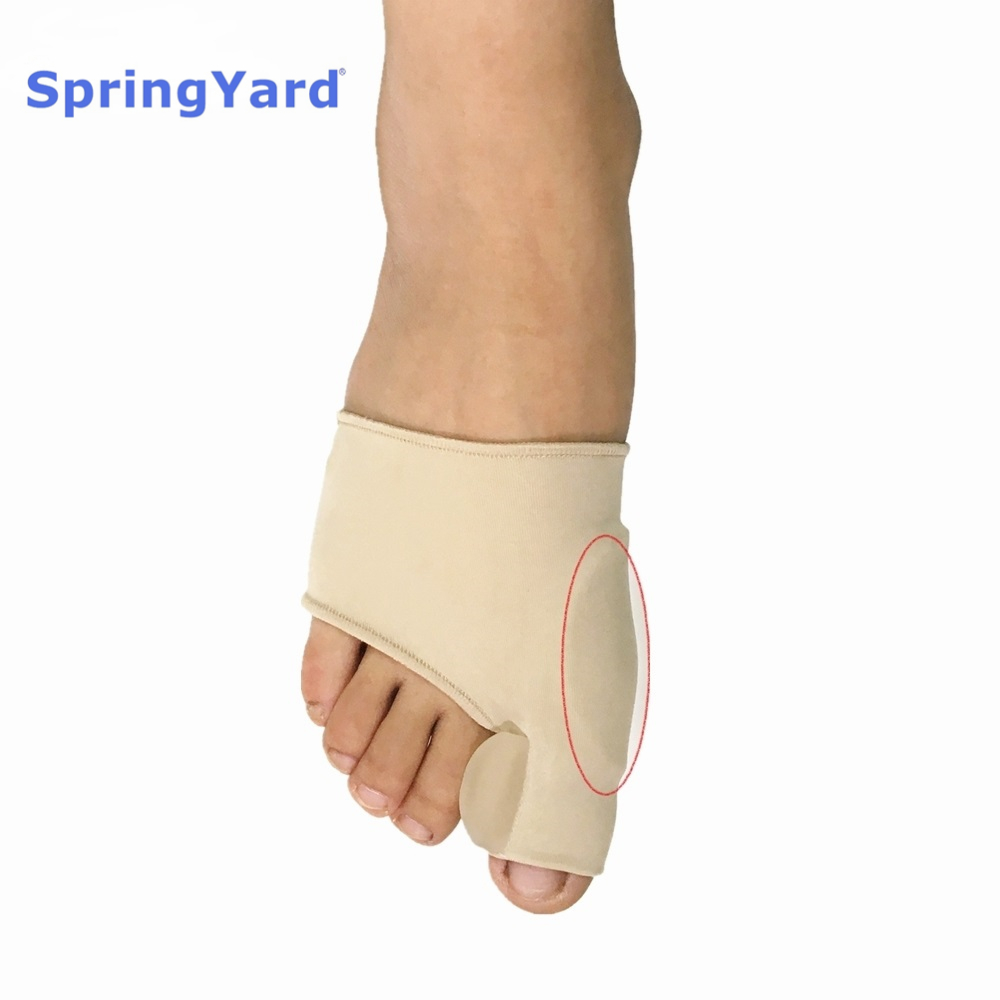 SpringYard Fabric+Gel Hallux Valgus Orthopedic Sleeve Bunion Corrector Toe Separator Big Toe Protector Foot Care Pakistan