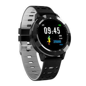 Image 2 - SENBONO CF58 חכם שעון IP67 עמיד למים מזג זכוכית פעילות גשש כושר קצב לב צג ספורט גברים נשים חכם להקה