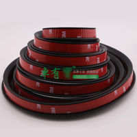 High Strength 300cm Wheel Eyebrow Arch Decorative Strip Car Tires Eyebrow For Round Rubber Auto Protective