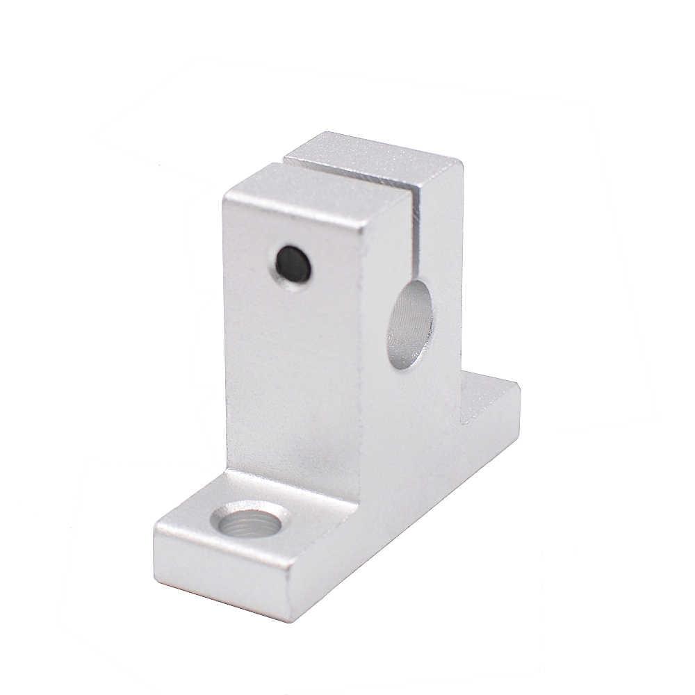 2 pçs/lote SK8 SK10 SK12 Trilho Linear Suporte Do Eixo para XYZ Tabela CNC 3D Impressoras Peças Parte Deslizante Acessórios Extremidade Do Eixo