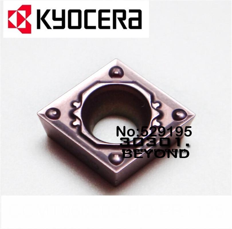Kyocera CCMT060202-HQ CCMT060204-HQ PR1125 карбидные вставки CCMT 060202 060204 токарный станок резак инструменты cuchillas de torno токарный инструмент