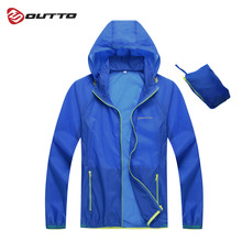 Outto Mens Cycling Jacket Windproof Outdoor Sport Skin Jackets Breathable Waterproof Anti-UV Bike Bicycle Windbreaker