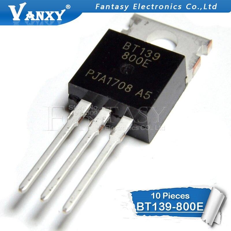 10PCS BT139-800E TO220 BT139-800 TO-220 BT139 139-800E
