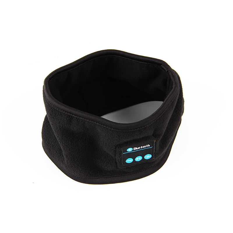 Vapeonly Knitting Music Headband with Earphone Mic Wireless Bluetooth Headset Earpiece for Sleep Running Gym Sports Headphones