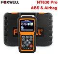Foxwell nt630 pro scanner automotivo obd2 abs srs airbag air saco De Dados Acidente Redefinir Ferramenta de Verificação Anti Bloqueio de Freio Do Carro Ferramenta de diagnóstico-