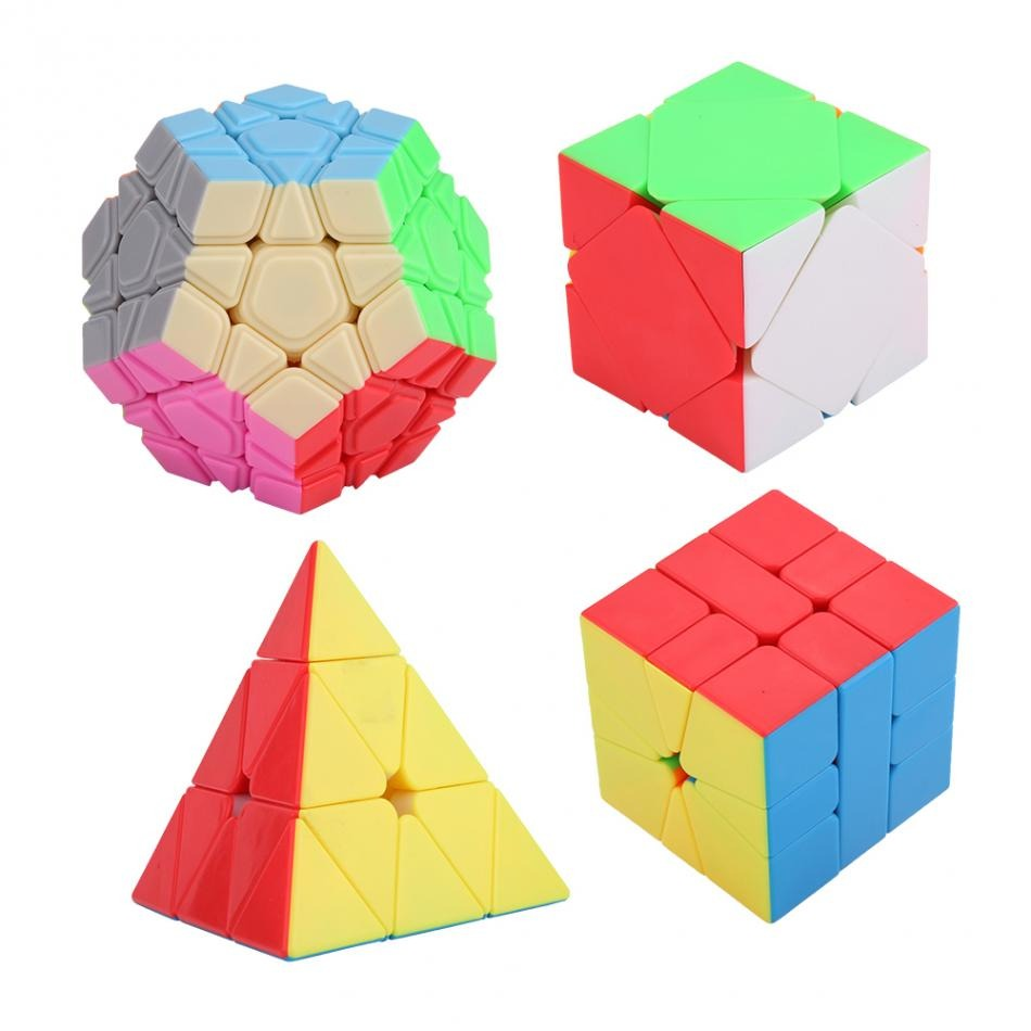 Yongjun Moyu Yuhu Megaminx Colorful Professional Magic Cube Learning Educational Toys Special Toys Clearance Price Magic Cubes