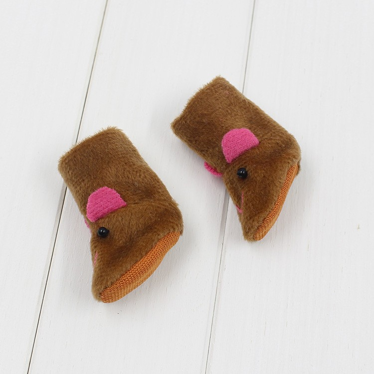 Neo Blythe Doll Animal Fluffy Boots 6