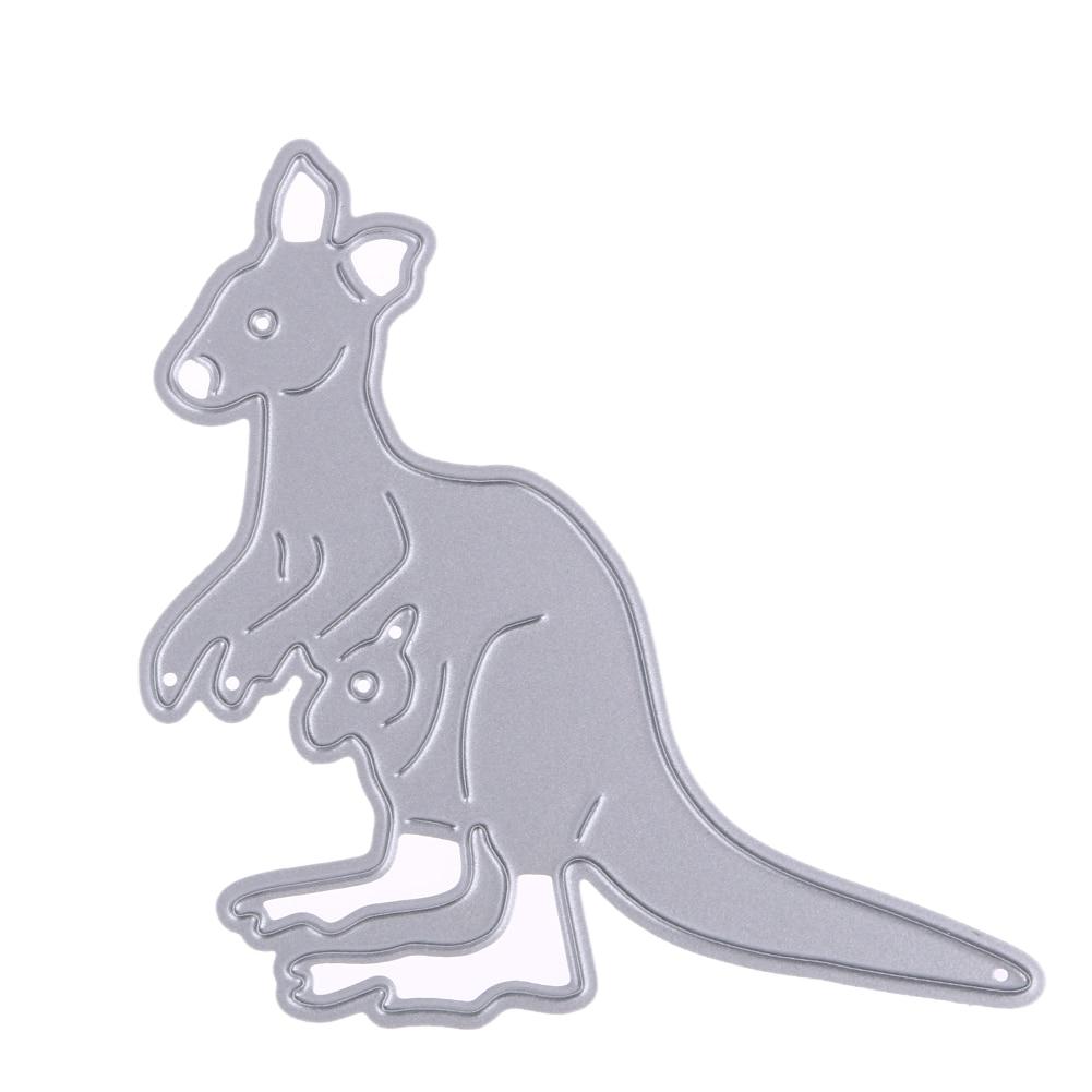 Scrapbook paper australia - Kangaroo Metal Cutting Dies For Scrapbook Album Invitation Home Decoration Cutting Dies For Scrapbooking Craft Paper