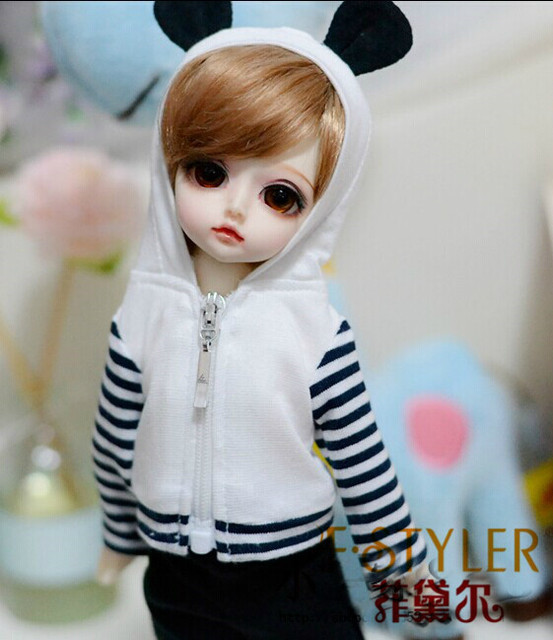 BJD doll clothes SD MSD YOSD Doll clothes  panda modelling coat suits   Free shipping