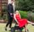 Bolsa de carrinho de bebê carrinho de bebê de alta paisagem pode sentar carro de amortecimento de choque leve Russo frete grátis