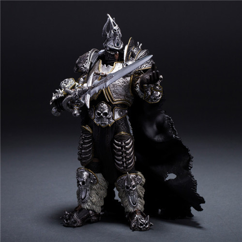 Arthas Menethil The Lich King illidan Stormrage Deathwing Sylvanas vashj Priestess action Figure свитшот print bar lich