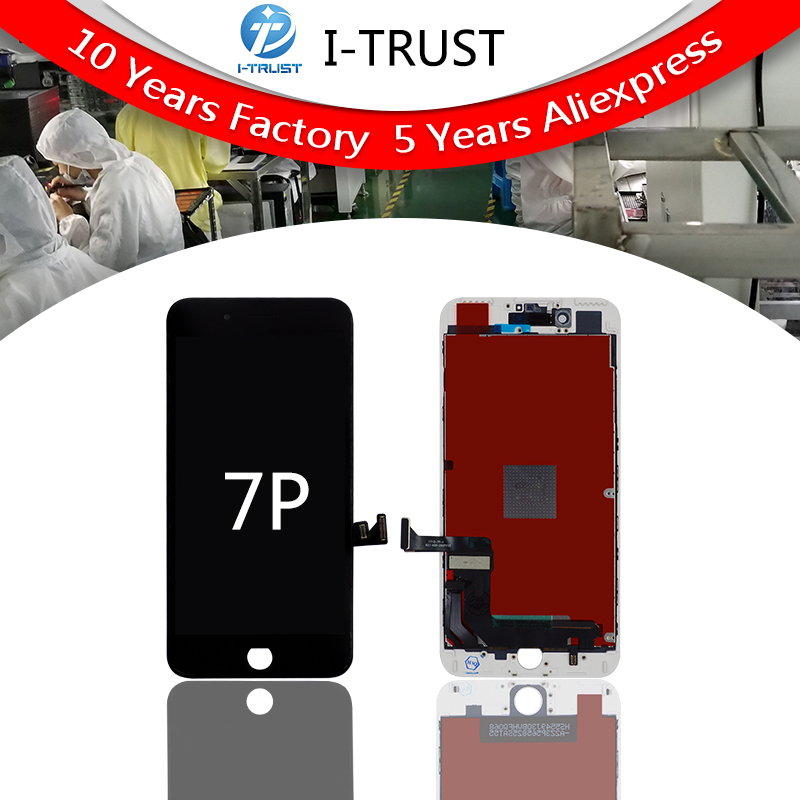 5PCS For AAA Quality Screen For iPhone 7 Plus LCD Screen With Good 3D Touch Digitizer