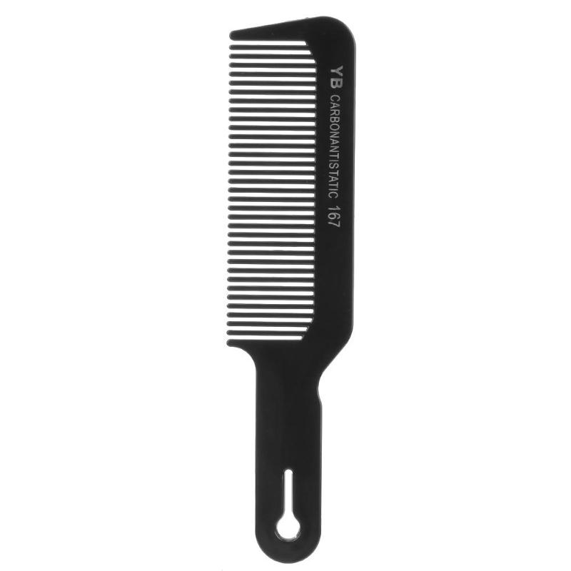 1/2pc Flat Head Hair Comb Anti-static Hair Comb Cutting Combs For Salon Sectioning Haircut Styling Tool