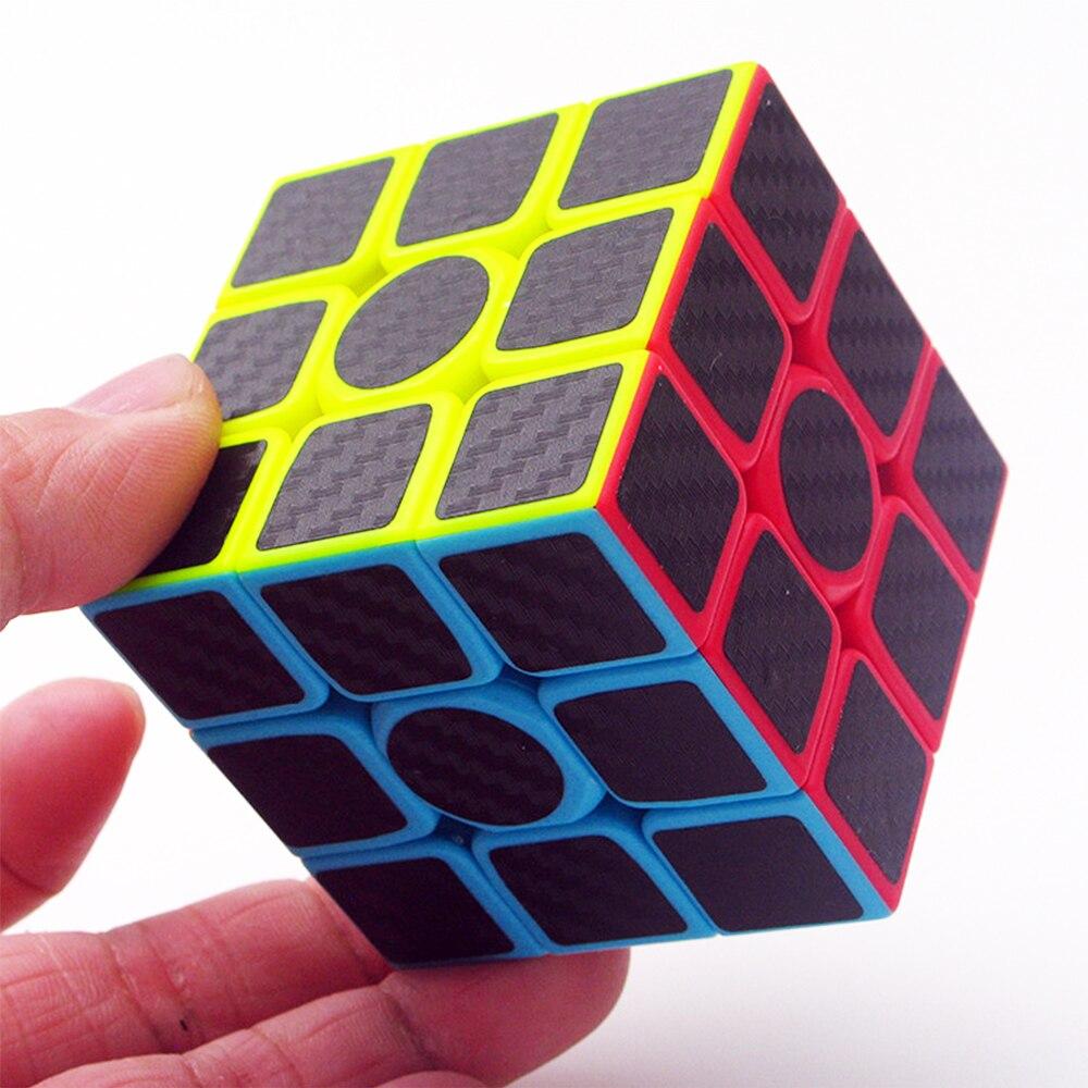 5 pièces/ensemble Megico Cubos de ZCUBE 2*2 3*3 sur 2x2x2 3x3x3 vitesse biais Puzzle Cube Megaminx Triangle professionnel Cubes magiques pour garçon - 3