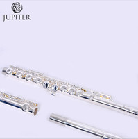 JUPITER flute JFL 511ES musical instrument Flute 16 over C Tune and E Key Flute music professional Free shipping
