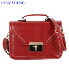 HENGSHENG cheap price women crossbody bag with top quality pu leather women shoulder bags and leather ladies handbags
