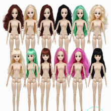 New 22 Moveable Joints Dolls for Girls Toys 60cm 3D Eyes with Shoes Fashion 1/3 BJD Doll White Muscle Naked Body Toy chinese princess dolls collectible oriental doll bjd girl doll toys with flexible joints body 3d realistic eyes souvenir gifts