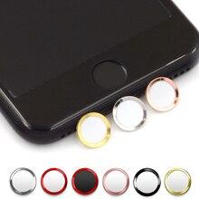 Поддержка разблокировки отпечатков пальцев сенсорная кнопка ID Главная Кнопка Наклейка защита для клавиатуры для IPhone 5 S 5 SE 4 6 6s 7 Plus