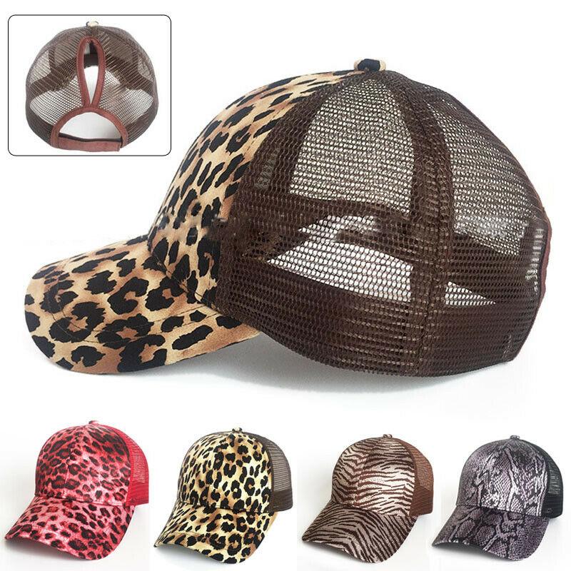 Hirigin Summer Fashion Casual Newest Glitter Adjustable Mesh Trucker Ponytail   Baseball     Cap   For Women Girls Hat