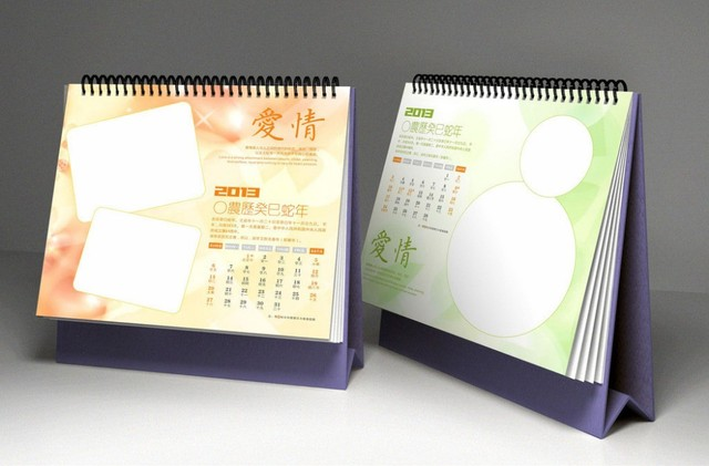 professional 2016 offset logo customizable custom desk calendar