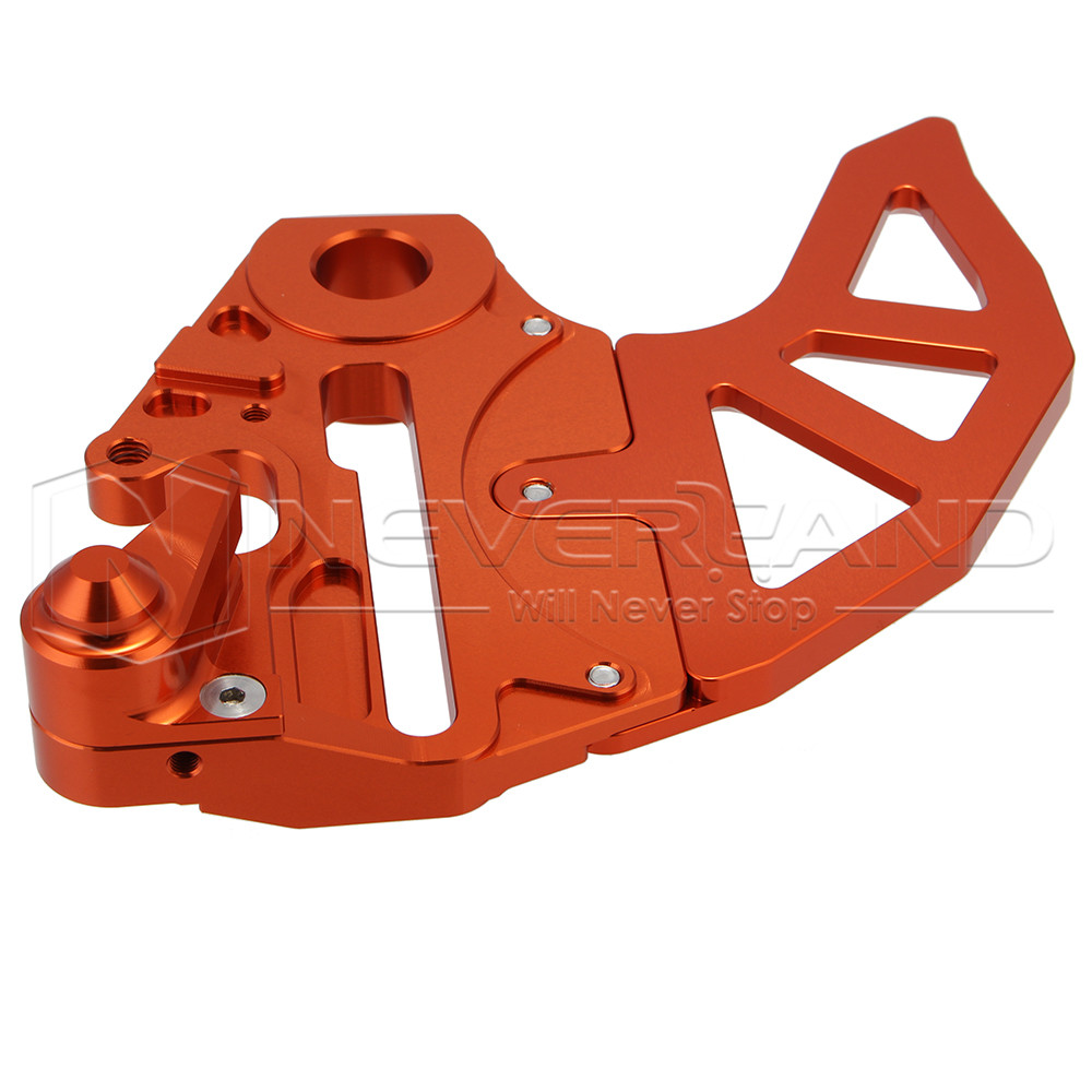 Orange Motorcycle CNC Billet Rear Brake Disc Guard Fits for KTM 125-530 SX/SX-F 2004-2012 125-530 EXC/EXC-F/XC-W/XCF-W 04-15 D25 for ktm 390 duke motorcycle leather pillon passenger rear seat black color