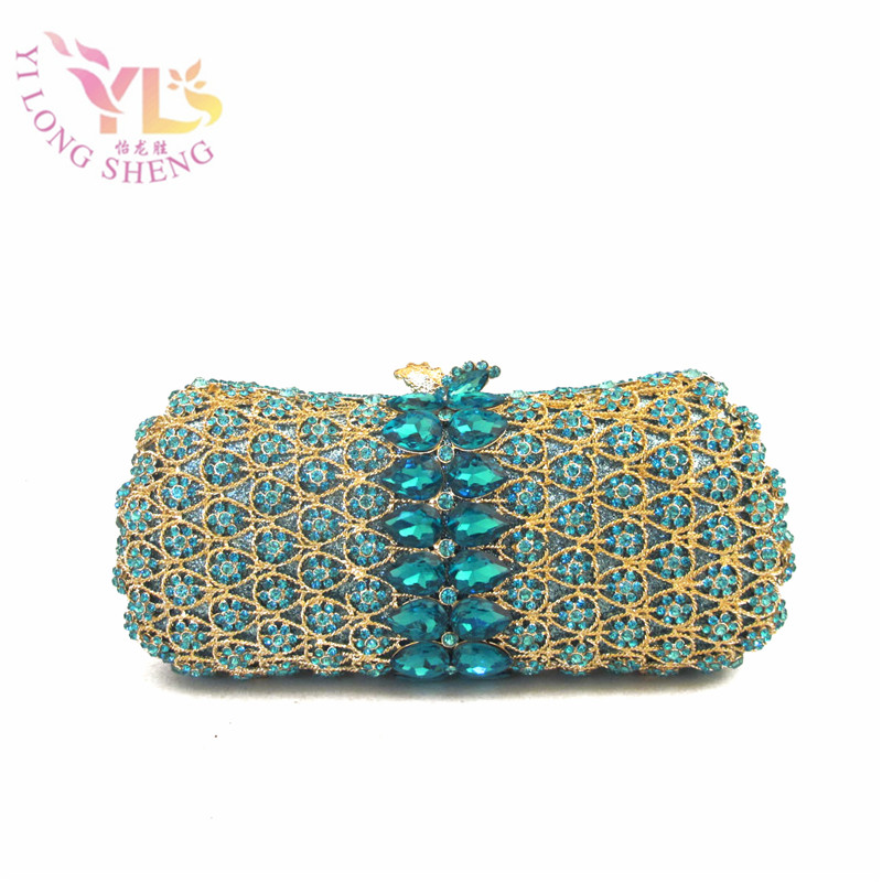 Ladies Clutch Purse with Stones Beaded Evening Handbags Crystal Day Clutches Purse Crossbody Shouldr Bags YLS-G89 women colorful handbags crystal beaded day clutches ladies chain evening bags messenger bags clutch pouch purse wallets for lady