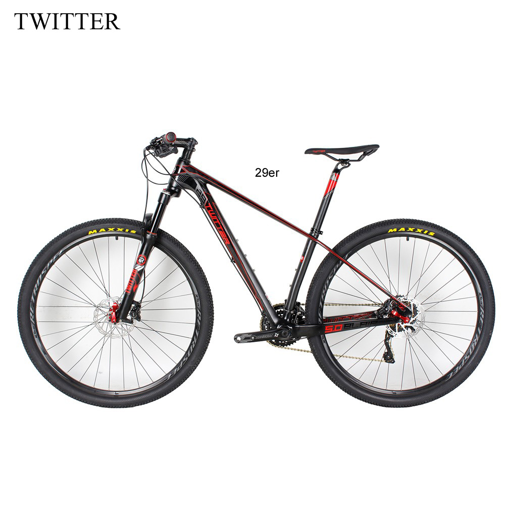 super light 29er 27 5er fat tire mountain bike new carbon frame through axle mtb frame NEW Complete MTB Bicycle Carbon Frame Full  29er Mountain Complete Bike 15.5'' 17.5''19 fiets carbon 29er Mountain Bike