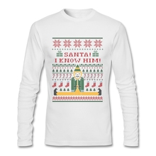 Brand Tee For Mens Elf Christmas Sweater Cool T Shirts For Men Natural Cotton Hot Sale Mens Full T-Shirts