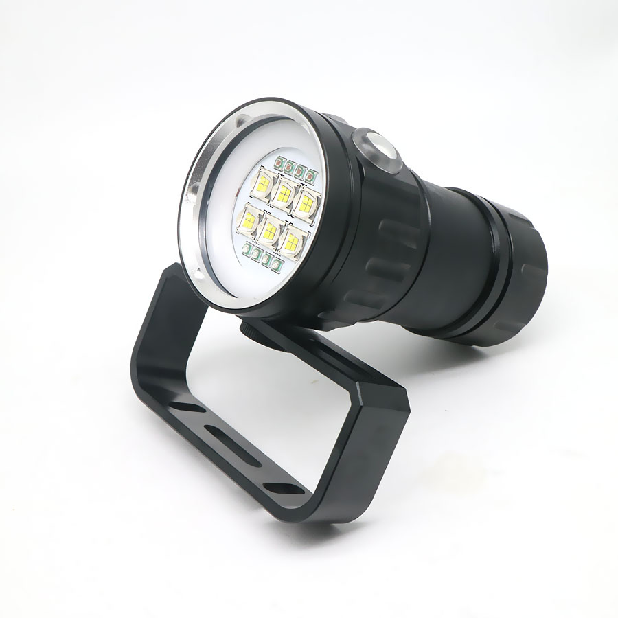 Image 4 - LED Diving Flashlight XHP70 / 90 LED  Photography Video Light Underwater 100m Waterproof Camera Tactical Torch Lamp-in LED Flashlights from Lights & Lighting