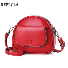 REPRCLA Fashion Designer Women Shoulder Bag PU Leather Crossbody Messenger Bags Ladies Handbag Bolsa Feminina
