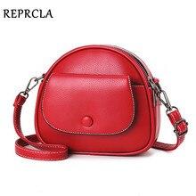 Сумка на плечо REPRCLA женская из экокожи, модный дизайнерский саквояж кросс боди, мессенджер