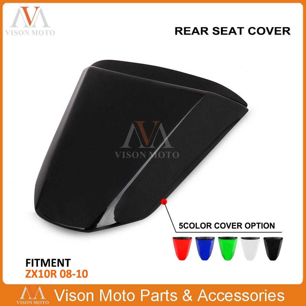 Protection de carénage de couverture de siège arrière pour moto Kawasaki ZX10R ZX-10R ZX 10R 2008 2009 2010