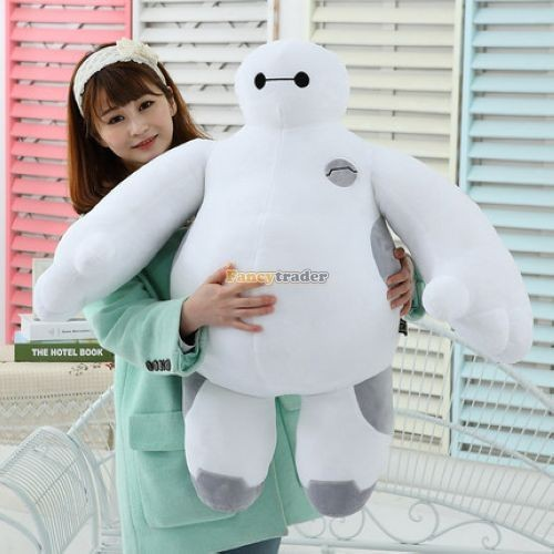 Fancytrader 39\'\' 100cm Giant Plush Stuffed Baymax Big Hero 6 Stuffed Toys, Free Shipping FT90510 (1)