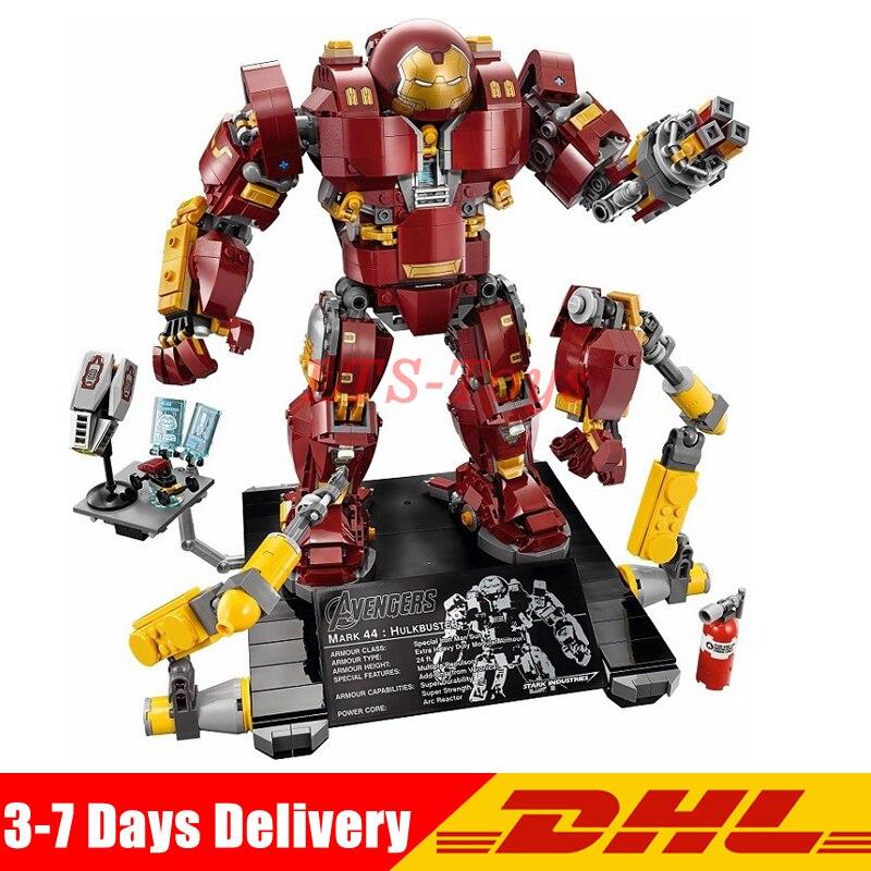 LEPIN 07101 Super Hero The Hulkbuster: Ultron Edition Anti Hulk Mech Toy Building Bricks Blocks Model Compatible Legoing 76105 цена