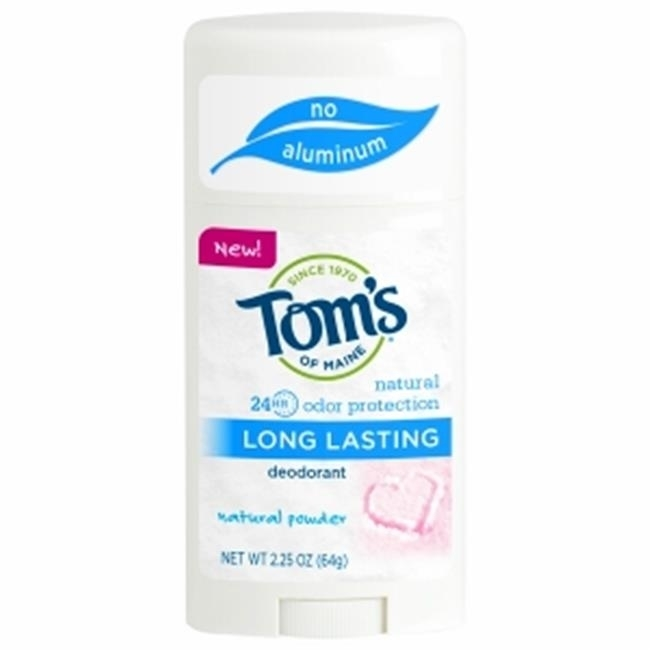 Toms Of Maine Natural Powder Long Lasting Deodorant - Stick 2.25 Ounce Case Of 6 frontier cinnamon powder korintje a grade 3% oil 16 ounce bags