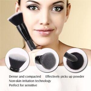 Image 3 - Бренд Zoreya , 15 шт ., черные кисти для макияжа, набор теней для век, пудра, кисть для основы, для макияжа, лучший растущий консилер , косметические инструменты